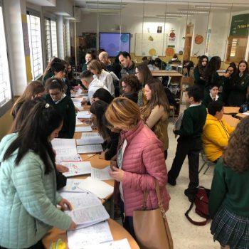 Secundaria celebra su aprendizaje con una «Feria Espacial»